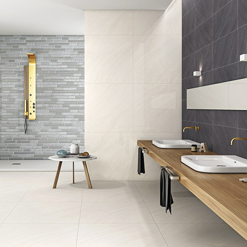 If you're looking to create a walk-in shower or a wet room, you'll need the right tiles to fit. We have a gigantic range of wet wall and flooring with non-slip quality to make the most of your home.
