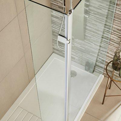 wetroom-return-hinged-shower-enclosure-Kartell