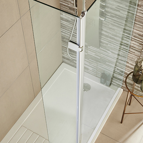 wetroom-return-hinged-shower-enclosure-Kartell
